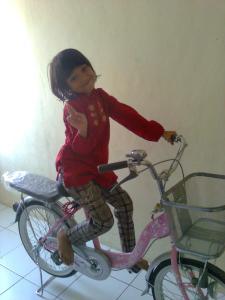sepeda baru hadiah ulangtahunku